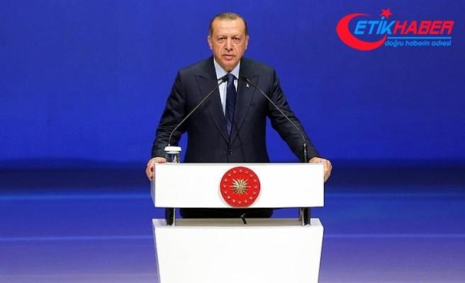 Cumhurbaşkanı Erdoğan: Türkiye 'enerjinin İpek Yolu' olarak isimlendiriliyor