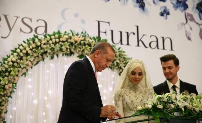 Cumhurbaşkanlığı Sözcüsü İbrahim Kalın'ın kızı evlendi