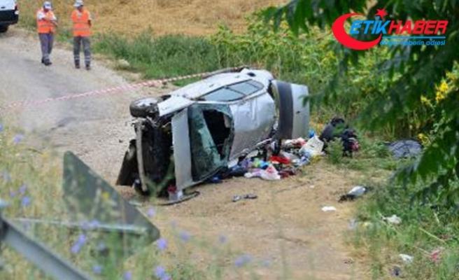 Erbaa'daki kazada 3 ölü