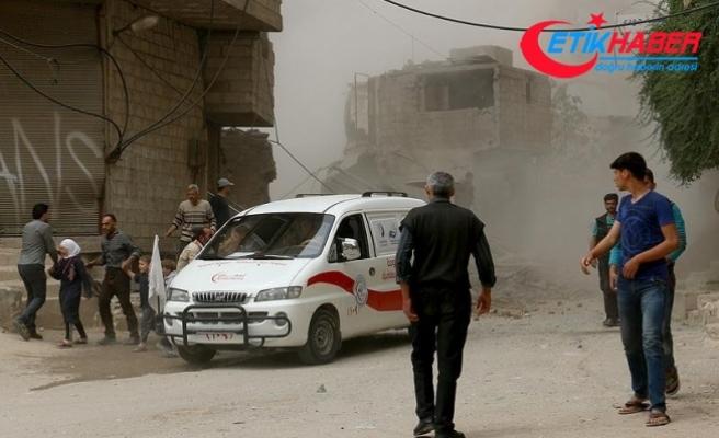 Esed rejiminden 'Beyaz Baretliler'e saldırı