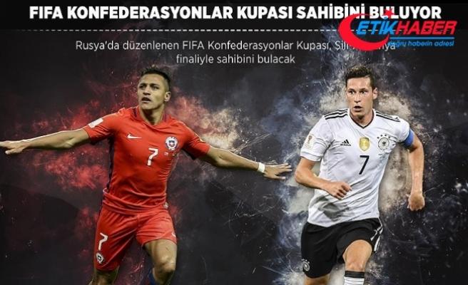 FIFA Konfederasyonlar Kupası sahibini buluyor
