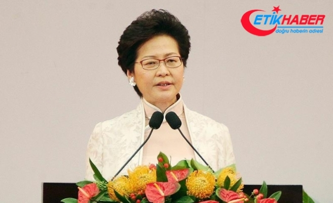 Hong Kong'un yeni lideri Lam göreve başladı