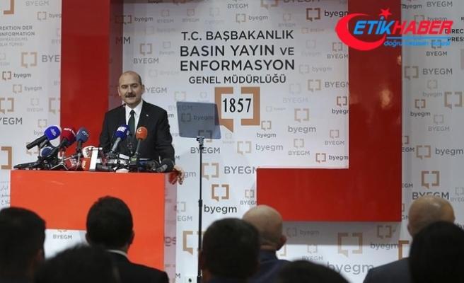 İçişleri Bakanı Soylu: 15 Temmuz millet olma şuurunu yeniden verdi