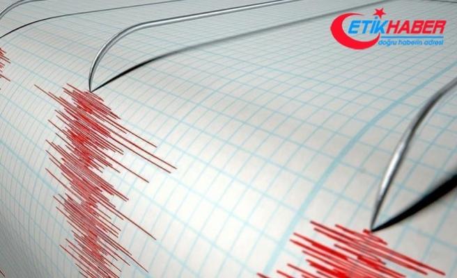 Akdeniz'de 3.5 büyüklüğünde deprem