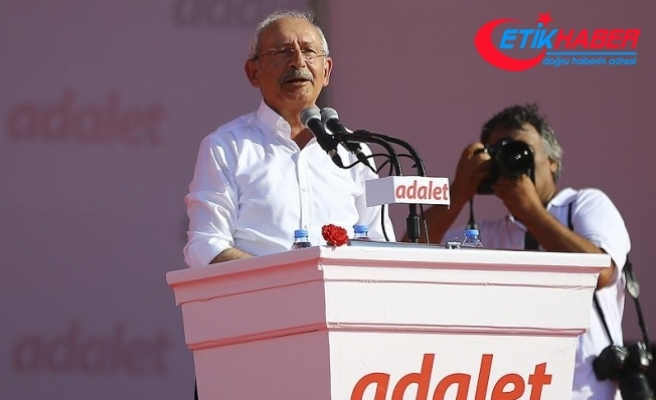 Kılıçdaroğlu: Türkiye Cumhuriyetini payidar kılmak için hep birlikte üretip çalışacağız