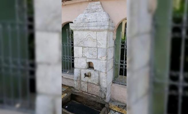 Kosova'da Osmanlı döneminden kalma tarihi sokak çeşmeleri yeninden gün yüzü buldu