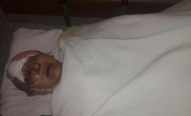 Maskeli saldırgan, yaşlı kadını dövüp, takılarını gasp etti