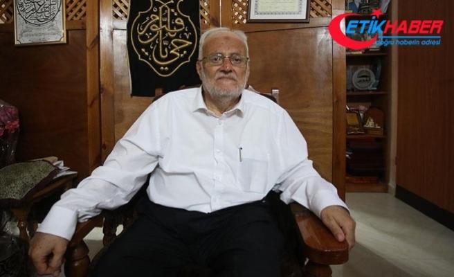 Mescid-i Aksa Hatibi Şeyh Sabri AA'ya konuştu