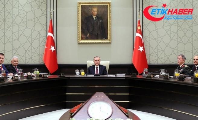 MGK bildirisi: Türkiye, sınırında terör devleti kurulmasına asla izin vermeyecek