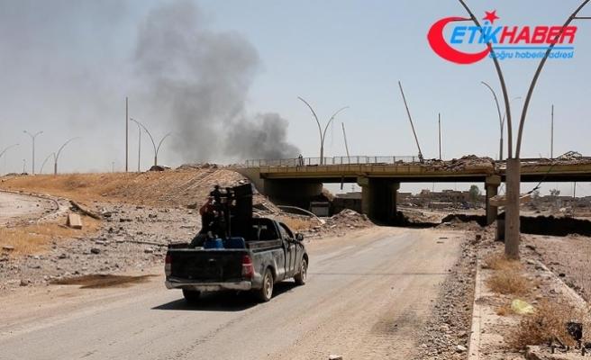 Musul'un batı yakasında bazı bölgeler DEAŞ'tan geri alındı