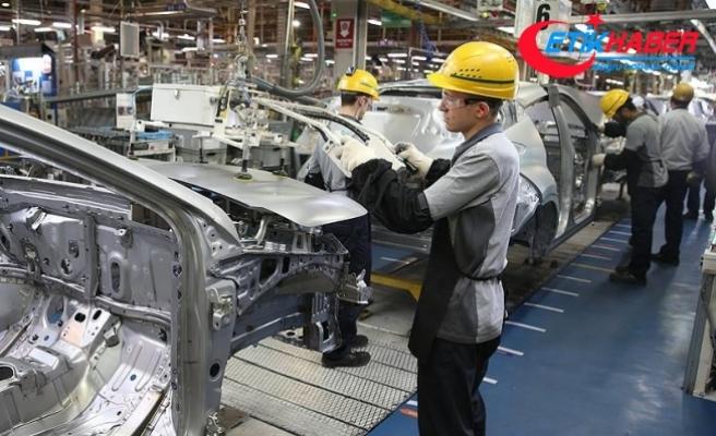 Sanayi üretim endeksi yüzde 3,4 arttı