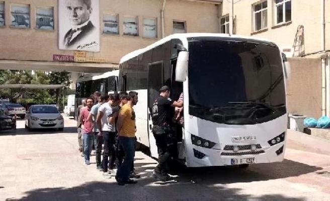 Şanlıurfa'da FETÖ operasyonu: 35 gözaltı