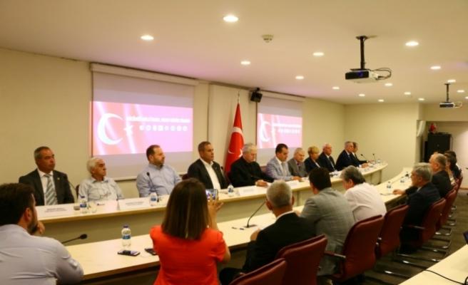 STK'ların 15 Temmuz'a ilişkin ortak basın toplantısı