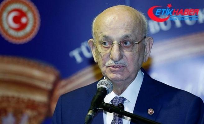 TBMM Başkanı Kahraman adaylık dilekçesini teslim etti