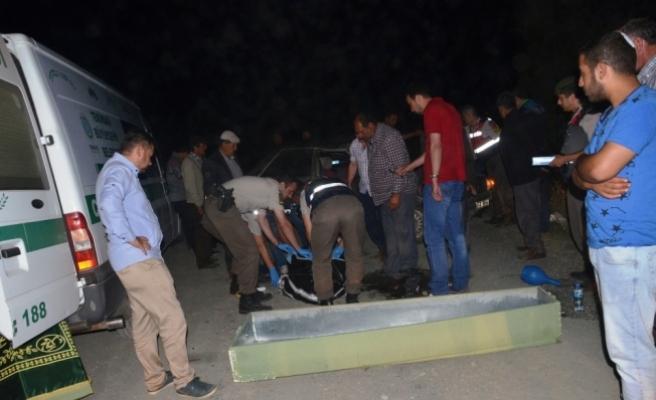 Tekirdağ'da trafik kazası: 1 ölü, 1 yaralı