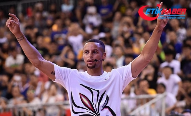 Warriors'tan Curry'ye 201 milyon dolar