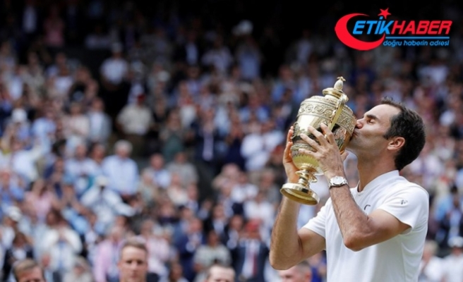 Wimbledon'ın kralı Federer tarih yazdı
