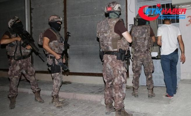 Adana'da PKK/KCK operasyonu: 20 gözaltı