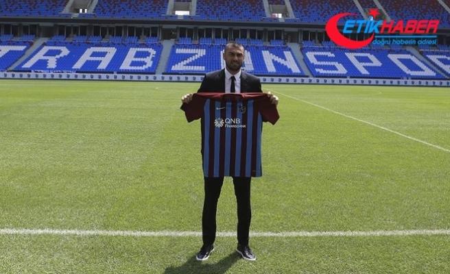Trabzonspor'da Burak Yılmaz, sahaya çıkmaya hazırlanıyor