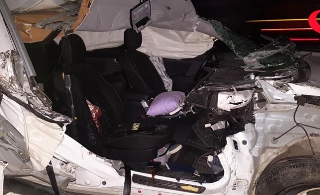 Düzce'de feci kaza!.. 2 kardeş öldü!