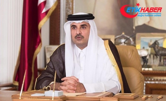 Katar Emiri Sani'den Trump'ın kararına tepki