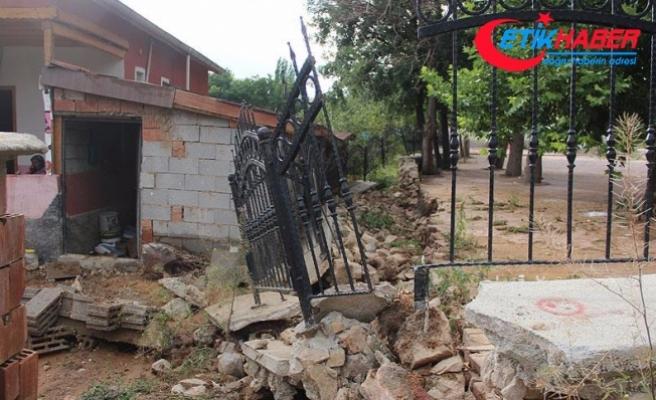 Konya'da sağanak ve sel etkili oldu