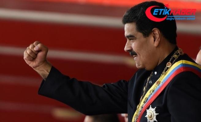 Venezuela Devlet Başkanı Maduro'dan ABD'nin yaptırım kararına tepki