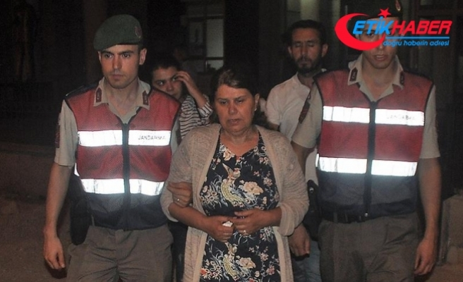 Yunanistan'a kaçarken boğulan kişinin eşi tutuklandı