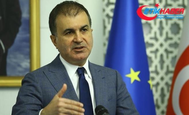 AB Bakanı Çelik: Talepler Türkiye'ye müdahale seviyesine geliyor