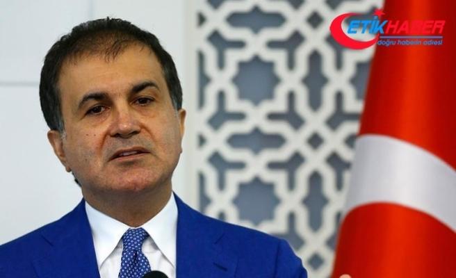 Çelik: AB müzakere sürecini Türkiye'ye şantaj yapmak için kullanıyor