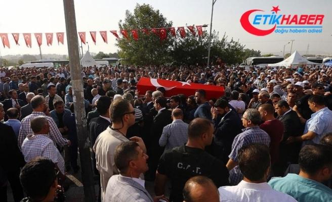 AK Parti Gaziantep Milletvekili Yüksel son yolculuğuna uğurlandı