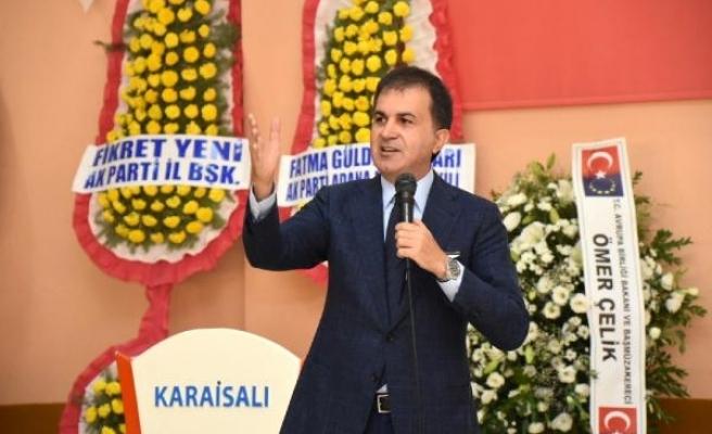 Bakan Çelik: Türkiye'ye karşı bir düşmanlık oluşturuldu