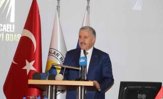 BakanArslan: Kocaeli'ne 6 milyar 880 milyon lira yatırım yaptık