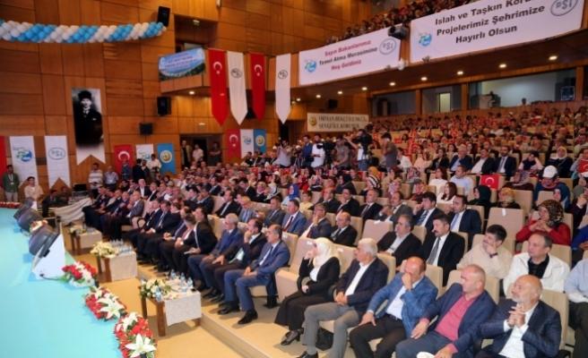 Bakanlar Eroğlu ile Bak, Rize'de