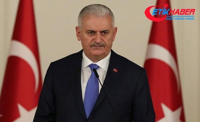 Başbakan Yıldırım'dan Talabani için taziye mesajı