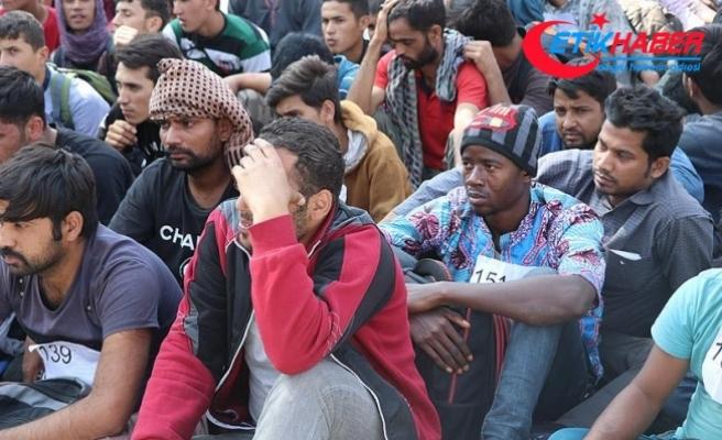 Balıkesir'de 57 yabancı uyruklu yakalandı