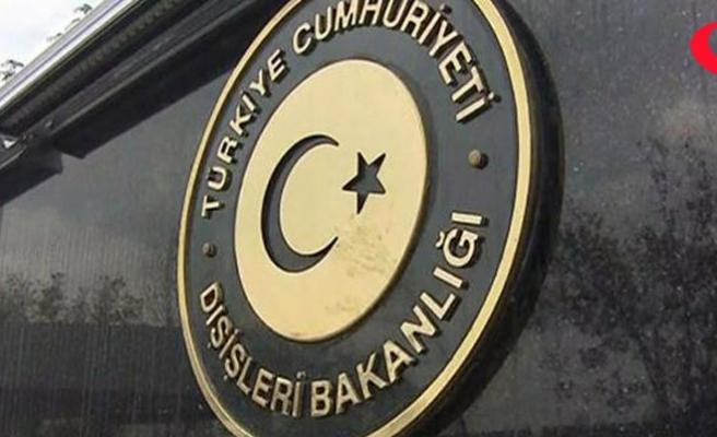 Dışişleri Sözcüsü Aksoy'dan Kardak açıklaması