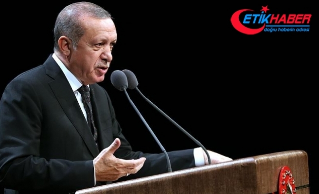 Erdoğan: Amerika'nın tahsis ettiği 400 dönüm araziden bizi bölmeye çalışıyor