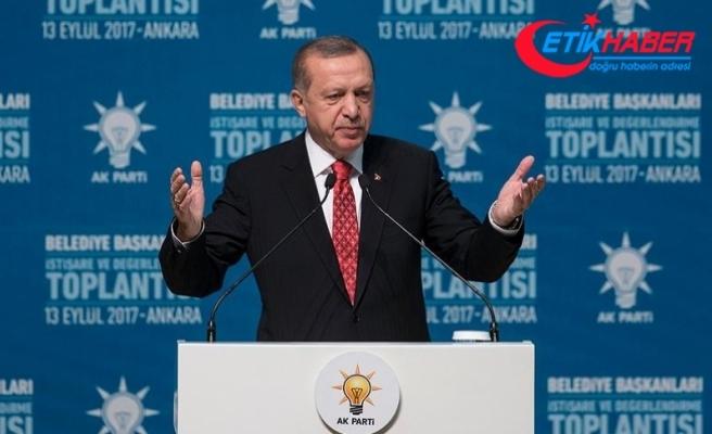 Erdoğan: Anamuhalefet ülkesini yabancılara şikayet etmeyi alışkanlık haline getirdi