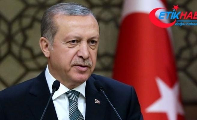 Cumhurbaşkanı Erdoğan, Ruhani ile telefonda görüştü