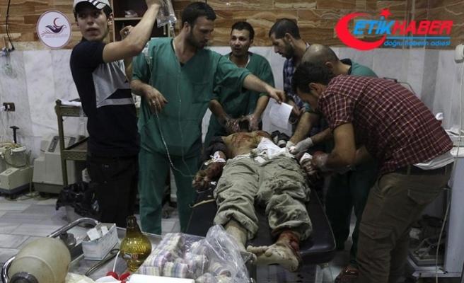 Esed rejiminin Şam'daki saldırılarında 14 sivil öldü