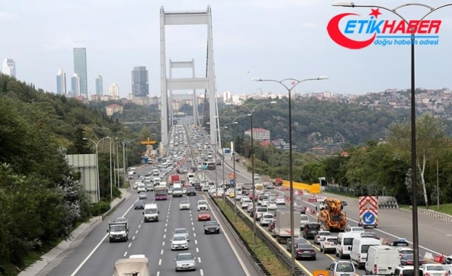 FSM'deki çalışma nedeniyle trafik yoğunluğu yaşanıyor