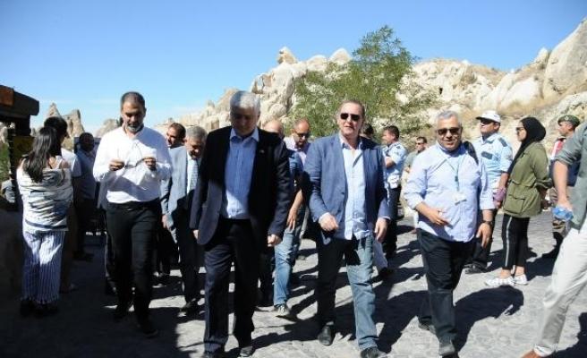 Gürcistan Kültür Bakanı Giorgadze Nevşehir'de
