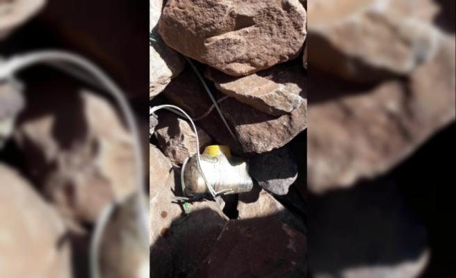 Hakkari'de PKK'nın hain tuzağı imha edildi