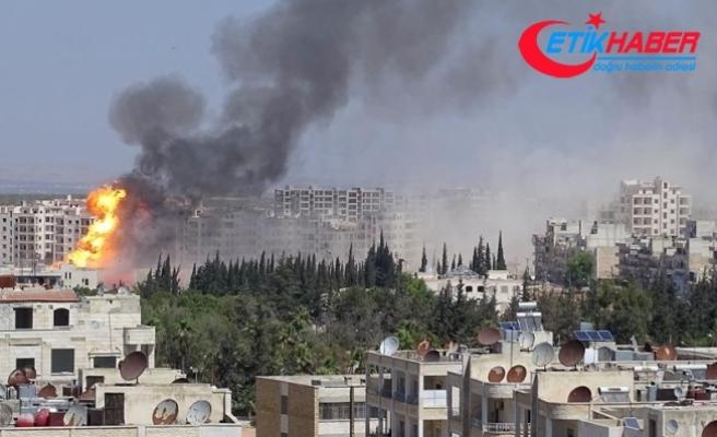 Suriye'nin İdlib'e hava saldırılarında 40 sivil hayatını kaybetti