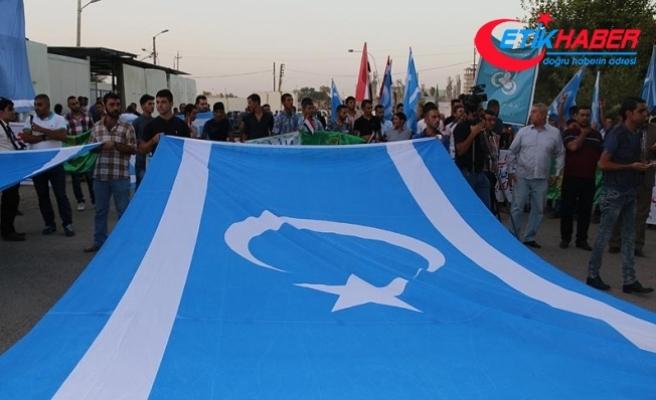 Irak'ın Diyala kentinde referandum karşıtı gösteri
