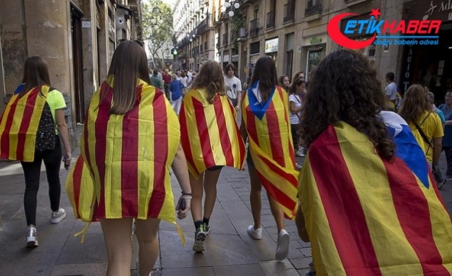 Katalonya'da genel grev ilan edildi