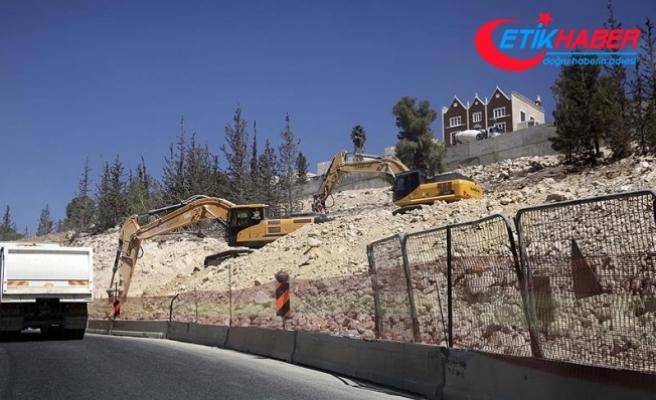 'İsrail'in yasa dışı yerleşim faaliyetleri yıl boyunca sürdü'