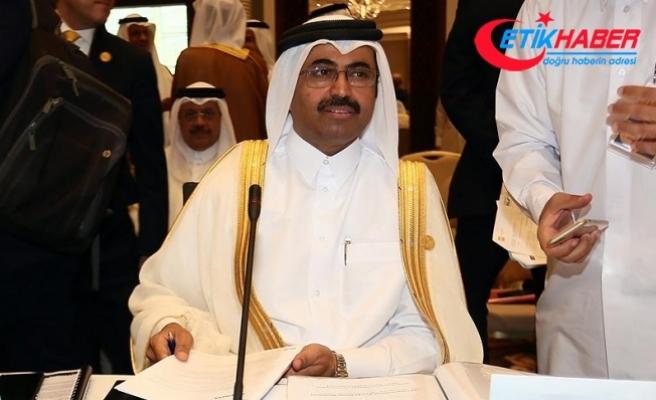 Katar Enerji Bakanı Sada: Krize rağmen petrol ve doğalgaz siparişlerini müşterilerimize teslim ettik