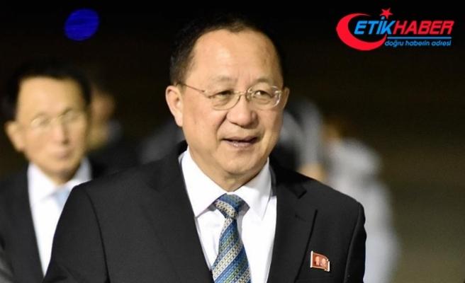 Kuzey Kore Dışişleri Bakanı Ri: Nükleer gücümüz savaşa karşı caydırıcılık amaçlıdır